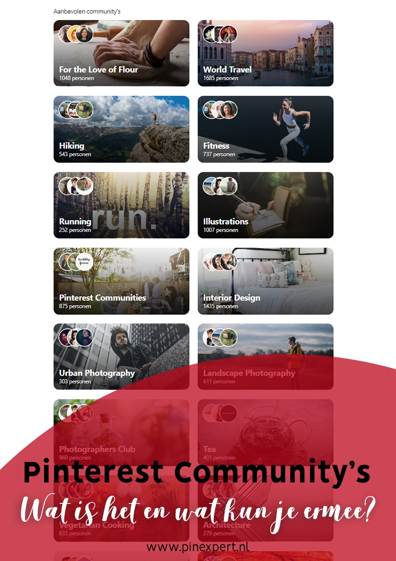 pinterest communitys communities