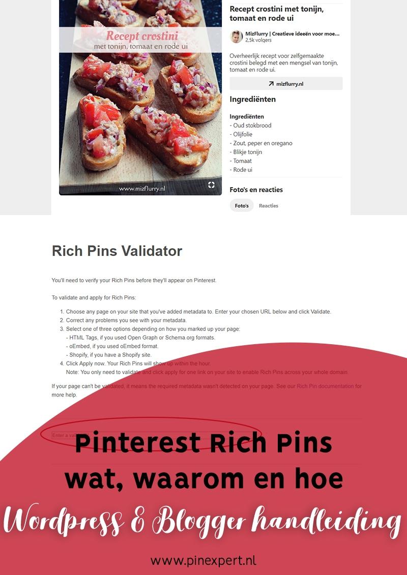rich pins pinterest